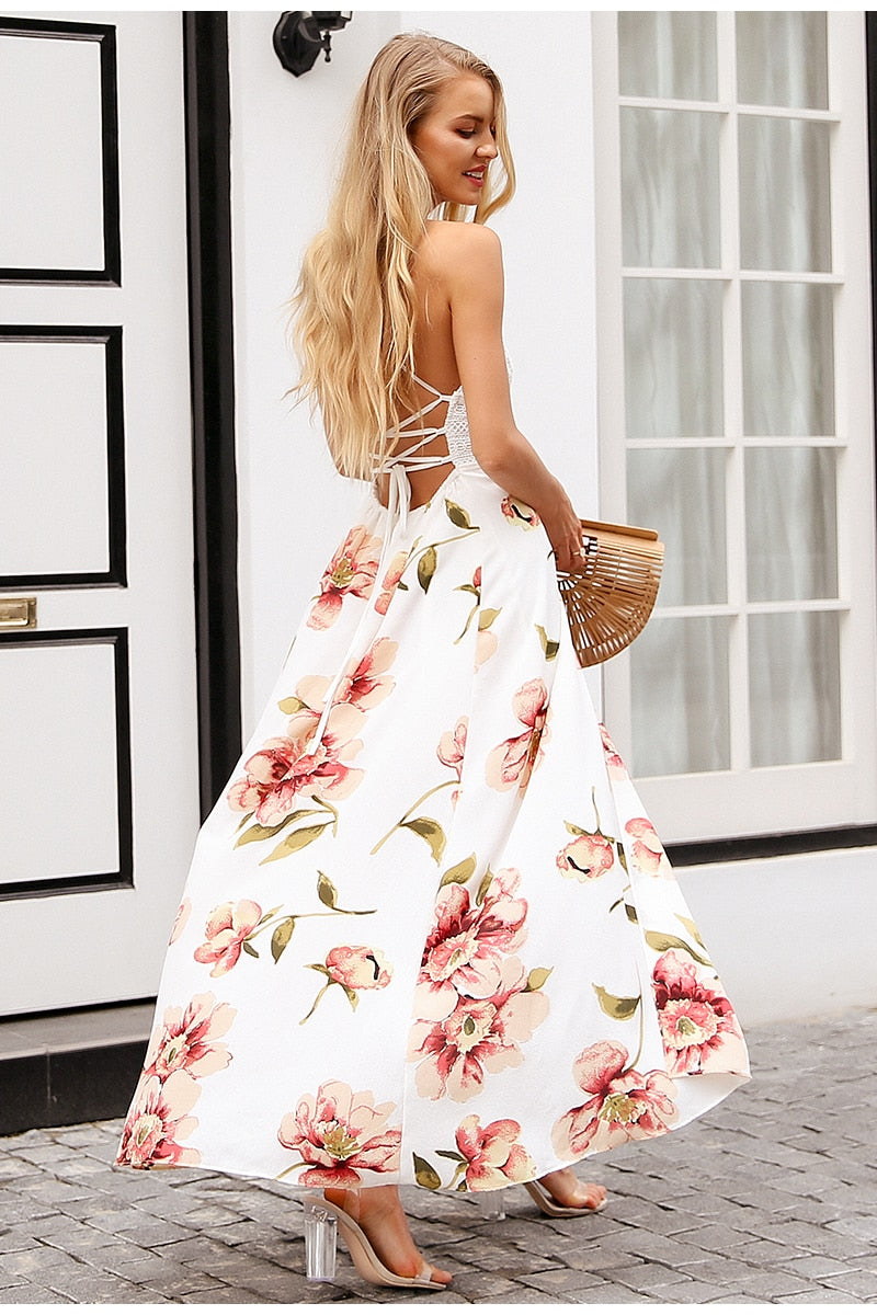 Maria Dress, Long Dress, Paradise drive, Street Paradise online shop - free worldwide shipping