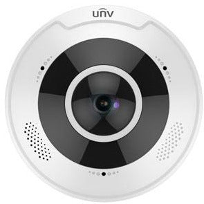 4K Ultra HD Vandal-resistant Fisheye Fixed Dome Camera - Local Security