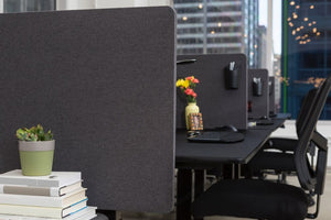 Luxor RECLAIM 2-Pack Desktop Privacy Panels - AlzaDesk
