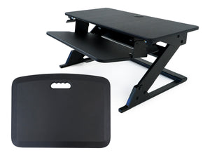 "iMovR ZipLift+ 35"" Standing Desk Converter with Standing Mat"