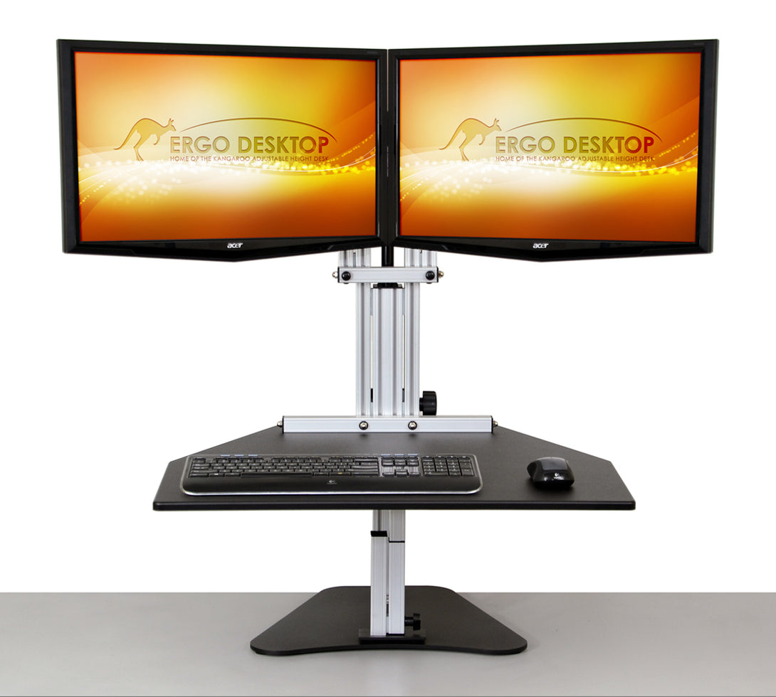 Ergo Desktop ED-KE Kangaroo Elite Adjustable Height Desktop - AlzaDesk