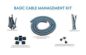 iMovR Basic Cable Management Kit - AlzaDesk