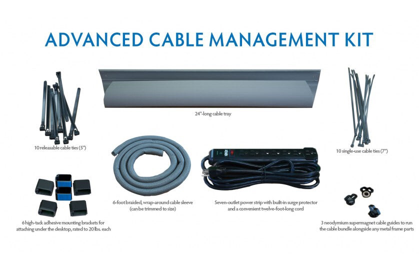 iMovR Advanced Cable Management Kit - AlzaDesk