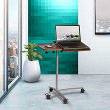Techni Mobili Sit-to-Stand Rolling Adjustable Laptop Cart