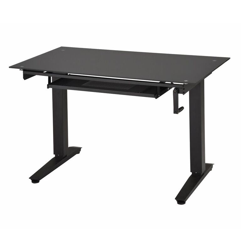 "Techni Mobili 48"" Adjustable Standing Desk, Black"