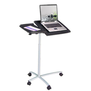 Techni Mobili Sit-to-Stand Rolling Adjustable Laptop Cart - AlzaDesk