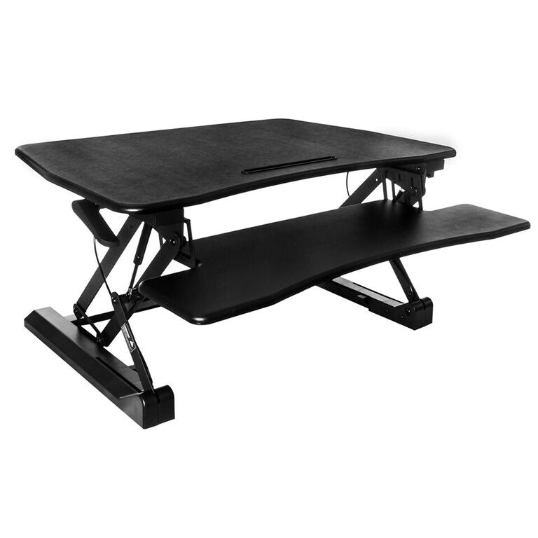Techni Mobili Riser Sit to Stand, Black