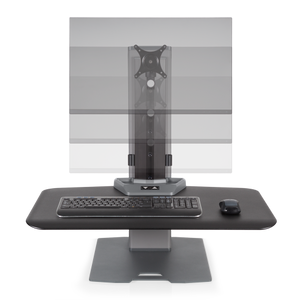 Innovative Winston-E Sit-Stand Workstation Single Monitor Mount - AlzaDesk