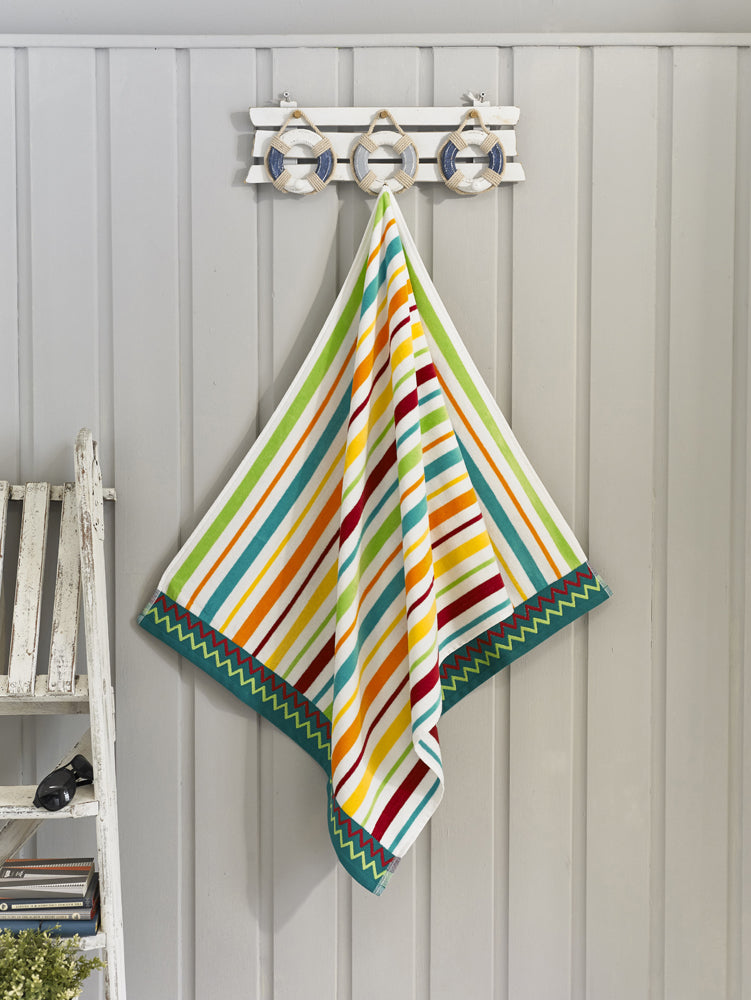 Egyptian Cotton Florida Beach Towel - Deyongs