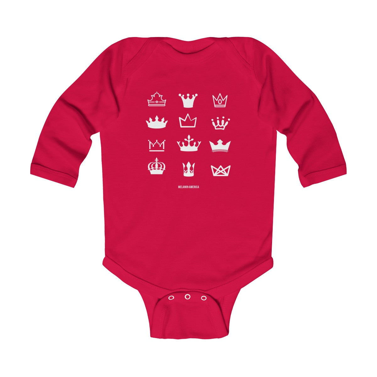 Rock your Crown Infant Long Sleeve Bodysuit