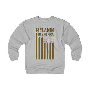 Melanin in America Unisex Heavyweight Fleece Crew