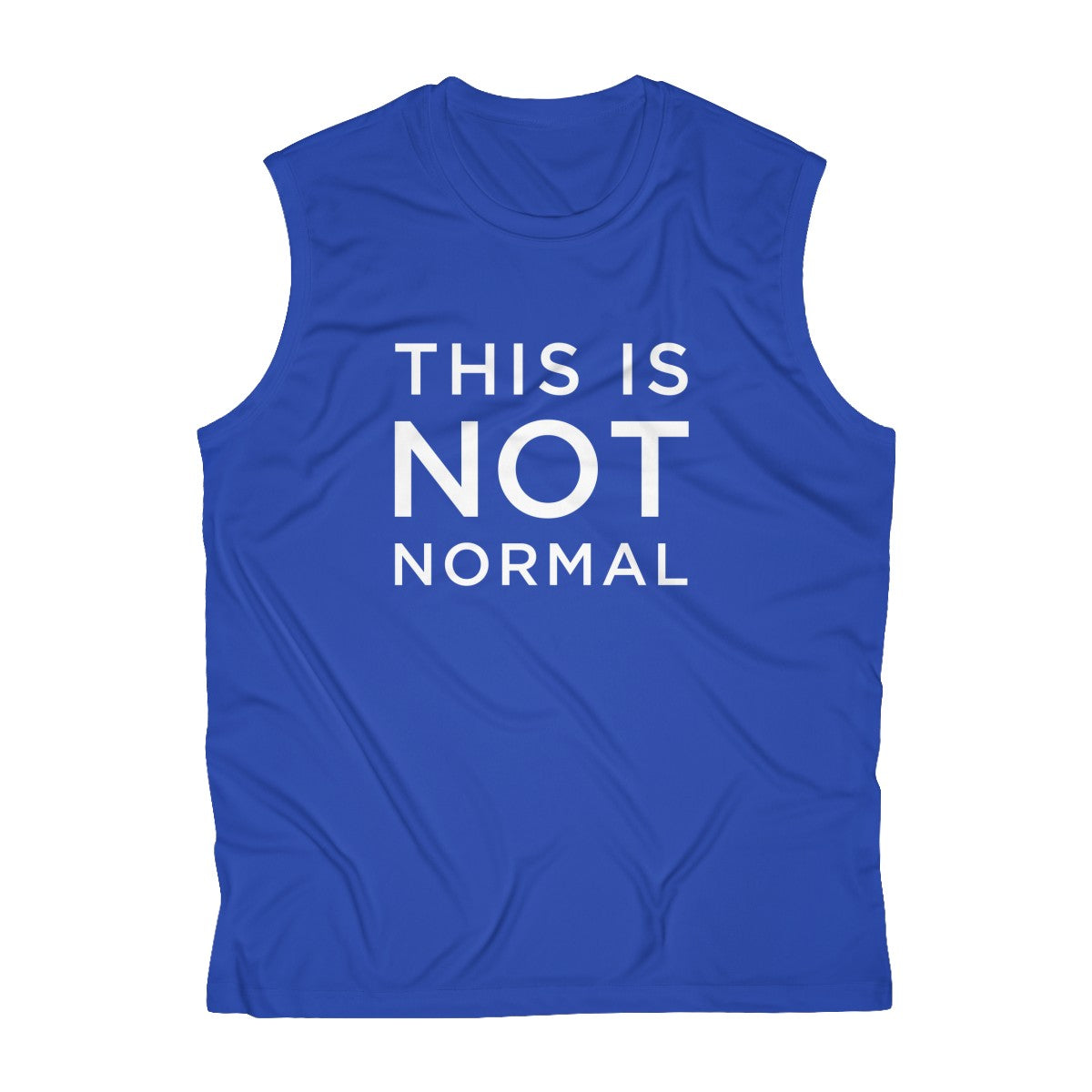 This is Not Normal Men's Sleeveless Performance Tee