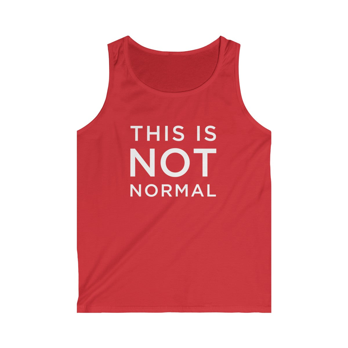 This is Not Normal Men's Softstyle Tank Top