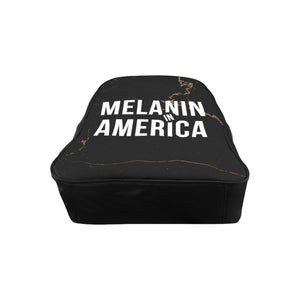 Melanin in America School Backpack