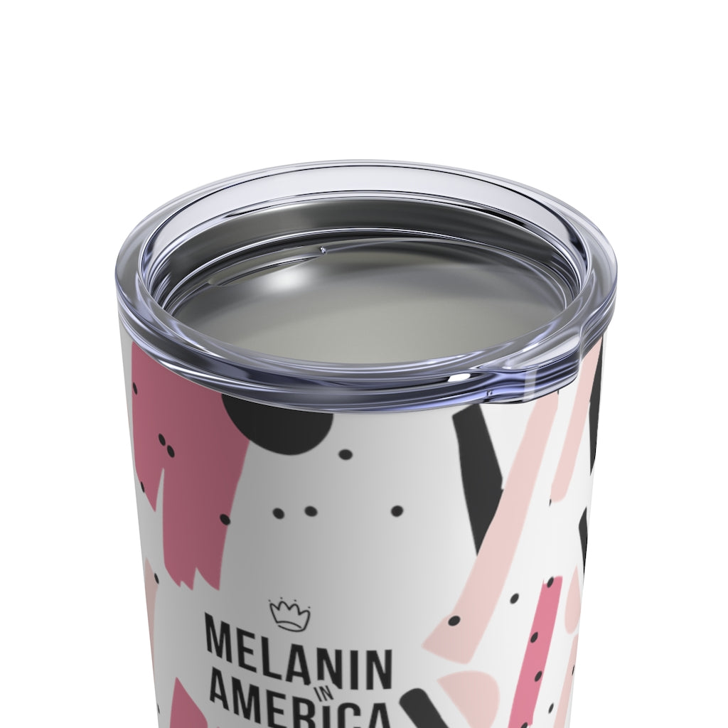 Melanin In America - Stainless Steel Tumbler 10oz