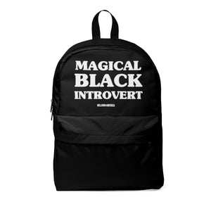 Magical Black Introvert Unisex Classic Backpack
