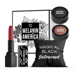Magical Black Introvert - Black Out Eye Shadow Beauty Kit