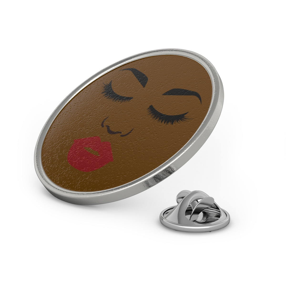 Unbothered Sis Metal Pin