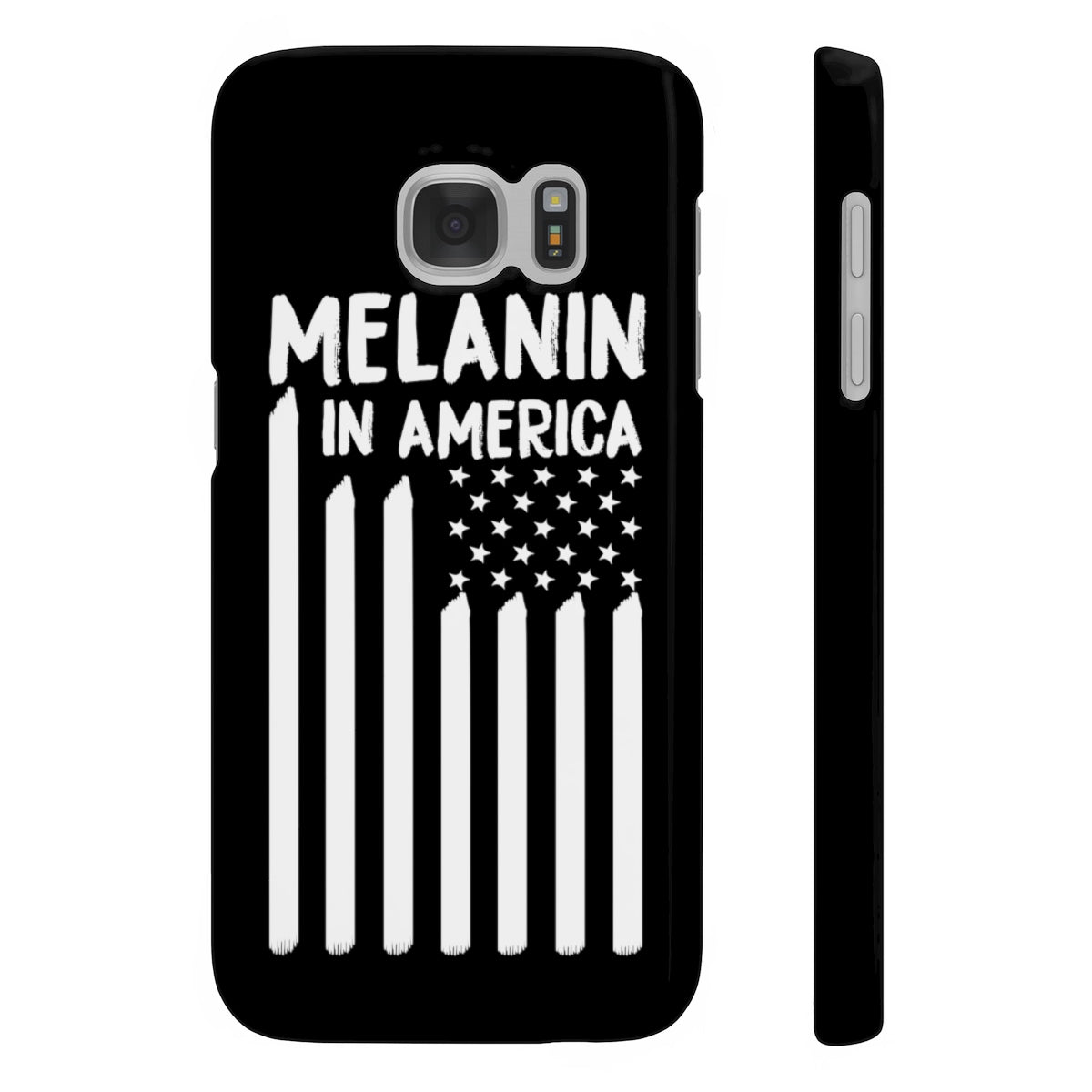Melanin in America Slim Phone Cases