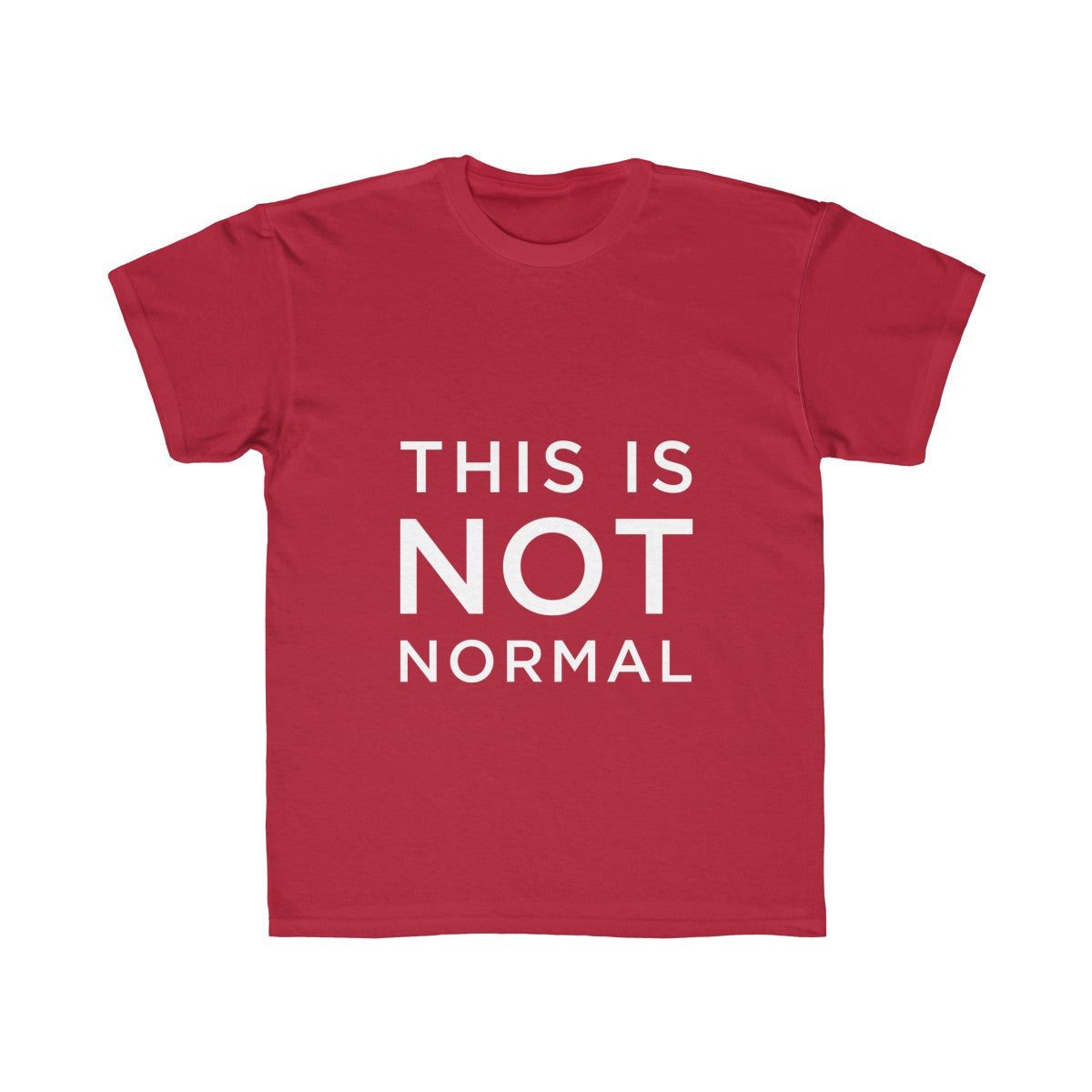 This is Not Normal Kids Regular Fit Tee