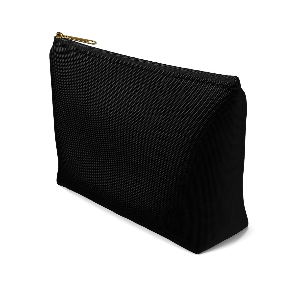 Magical Black Introvert Black Bag Accessory Pouch w T-bottom
