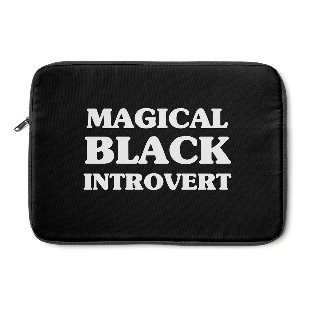 Magical Black Introvert Laptop Sleeve