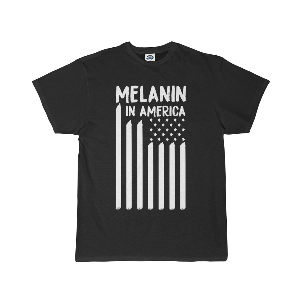 Melanin in America Men's Short Sleeve Tee
