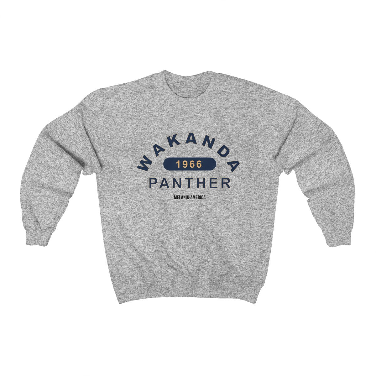 Wakanda Forever University Inspired Unisex Heavy Blend™ Crewneck Sweatshirt