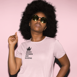 Black Women are Queens Unisex Heavy Cotton Tee