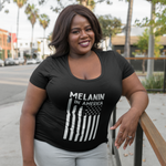 Melanin in America Women's Softstyle Tee