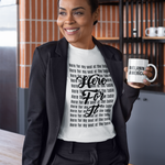 Here for My Seat at the Table - Women's Premium Cotton Tee
