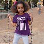 Melanin in America Kids Regular Fit Tee