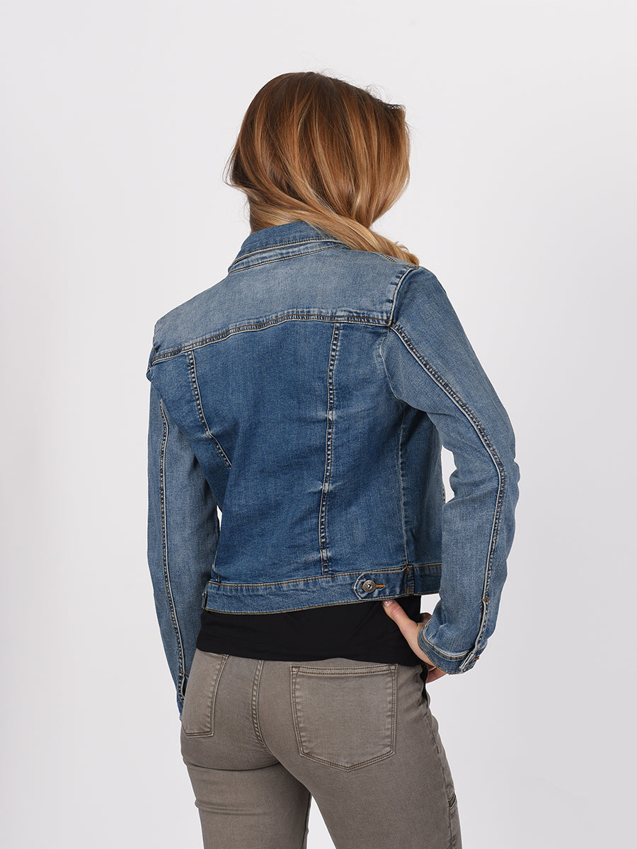 Womens Alcatraz Classic Denim Jacket 2