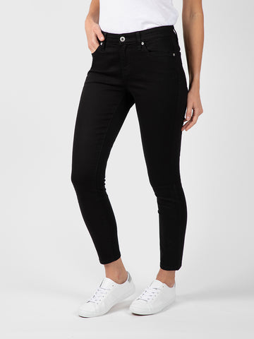 Womens Black Louise Skinny Ankle
