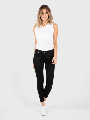 Womens Black Louise Skinny Ankle 5