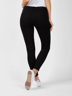 Womens Black Louise Skinny Ankle 7