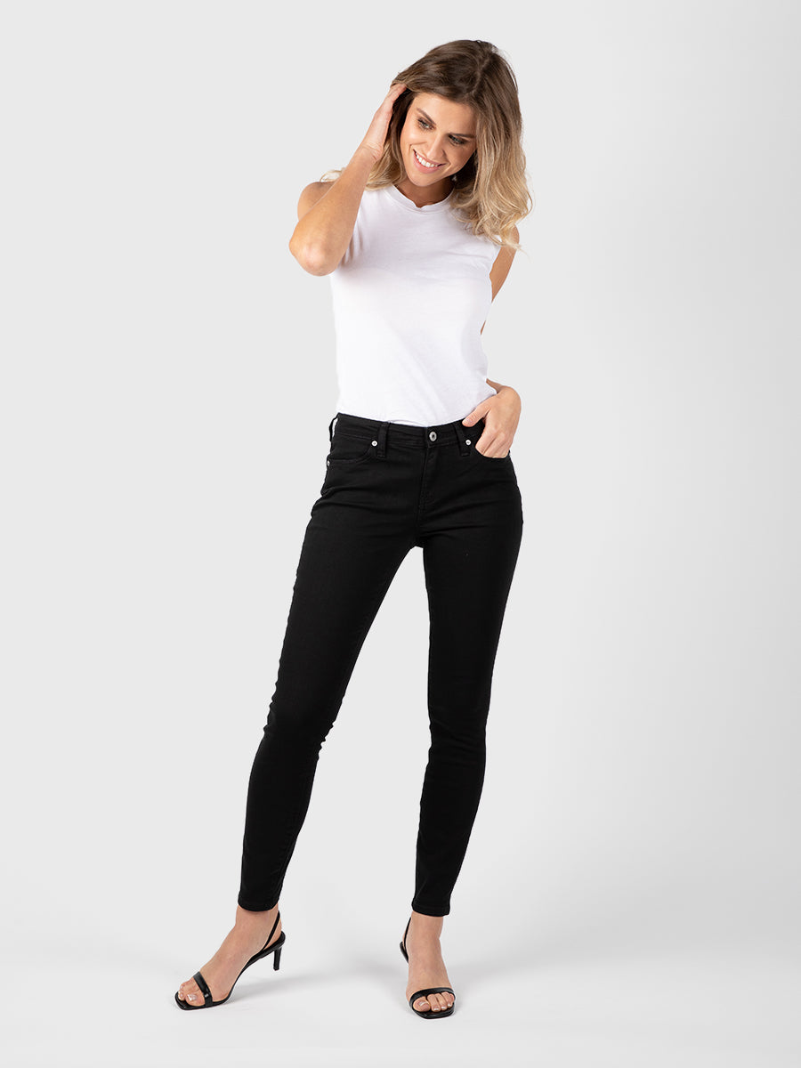 Womens Black Louise Skinny 2