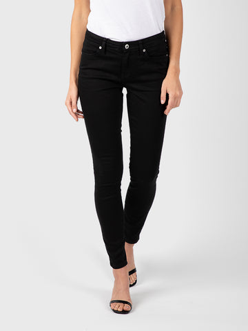 Womens Black Louise Skinny