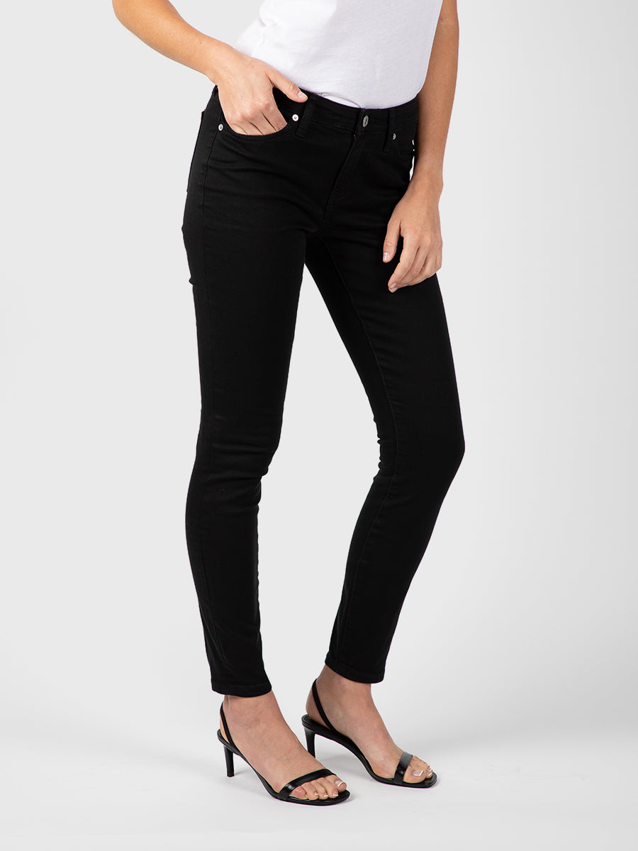 Womens Black Louise Skinny 4