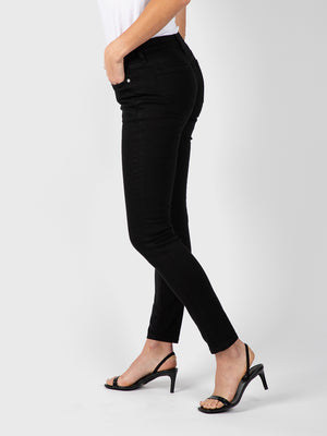 Womens Black Louise Skinny 5