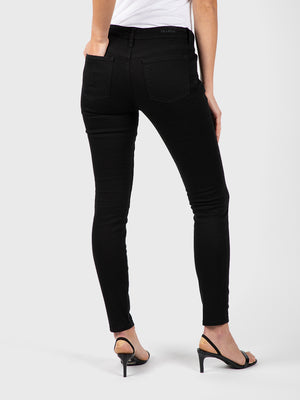 Womens Black Louise Skinny 6