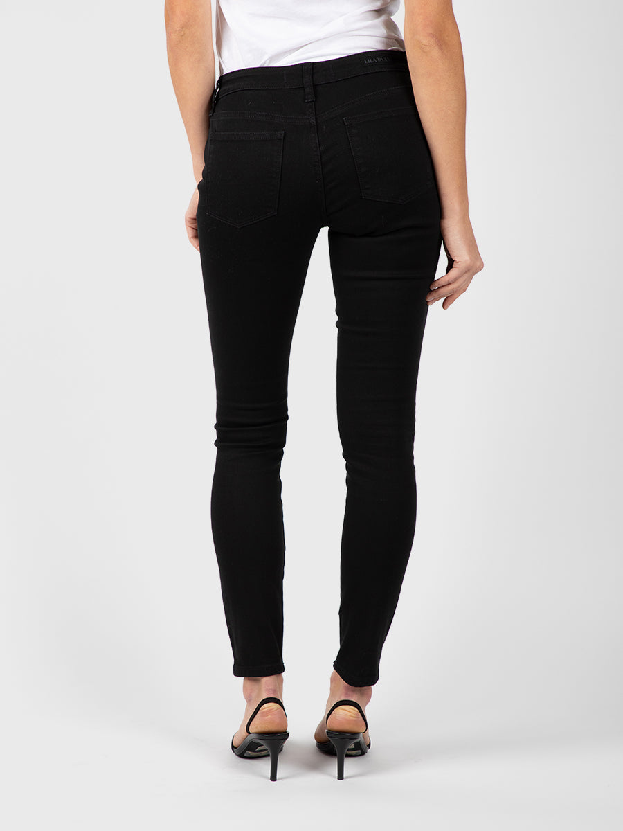 Womens Black Louise Skinny 7