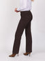 Womens Dark Espresso Giselle Wide Leg Trouser Alternate View