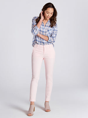 Womens Heavenly Pink Misha Slim Chino 2