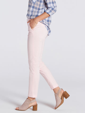 Womens Heavenly Pink Misha Slim Chino