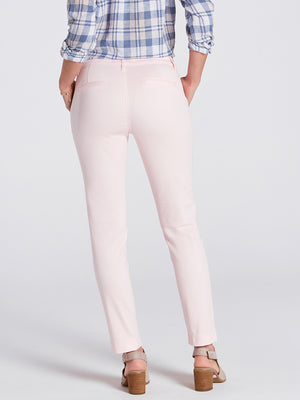 Womens Heavenly Pink Misha Slim Chino 4
