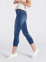 Womens LaSalle Ellene Mid-Rise Skinny Capri 2 Alternate View