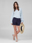 Womens Navy Susannah Short 2