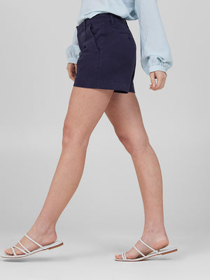 Womens Navy Susannah Short 4