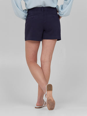 Womens Navy Susannah Short 6